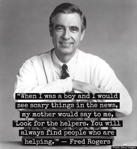 Mr. Rogers helper quote