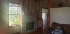 Front room of Utah house