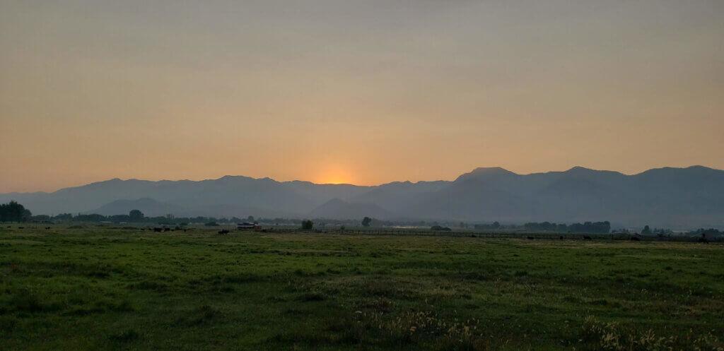 My soul Sings sunrise
